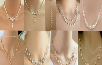 Spruce up your wardrobe with an all-new trendy collection of gold-pearl jewelry
