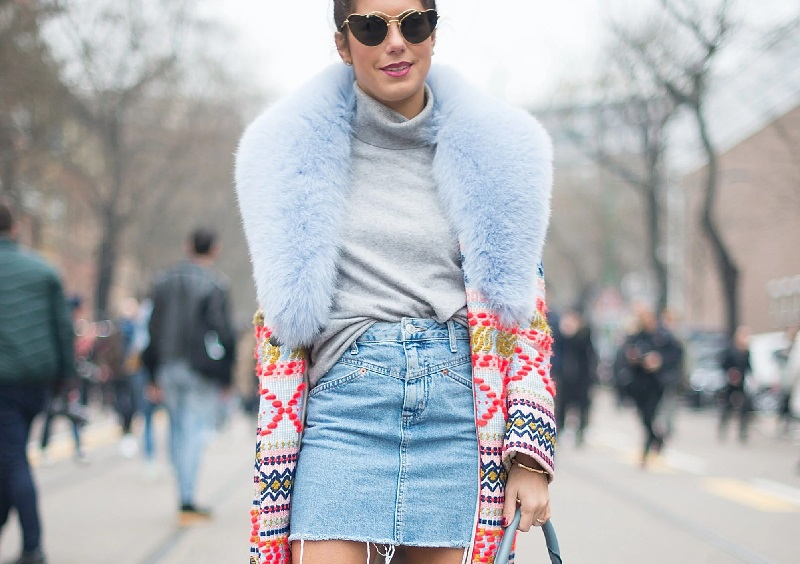 6 Different Ways To Wear Your Skirt In Winter